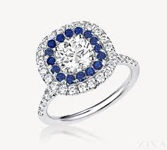 sapphire accent engagement rings enchanting engagement ring sapphire accent 52 with additional