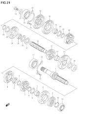 2009 suzuki boulevard c50 vl800 transmission parts best oem