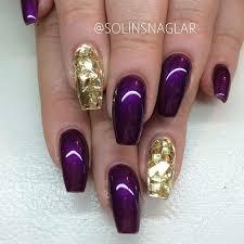 best 25 purple nails ideas on pinterest purple nail acrylic
