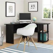 Desks With Shelves by Corner Desks L Shaped Desks Furniture With Shelves Ebay