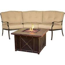 Patio With Firepit Fire Pit Sets Outdoor Lounge Furniture The Home Depot