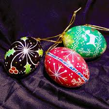 egg ornaments pysansky ukrainian egg ornaments visarts