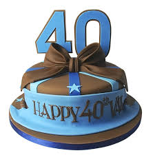 40th birthday delivery 40 birthday cake ideas archives best custom birthday cakes in