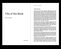 format for ebook publishing creating the interior of your book with tredition templates