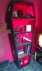 coffin bookshelf our diy coffin shelves shelves and book shelves