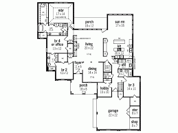 5 bedroom house plans with bonus room traditional house plan hobby room and bonus one level plans