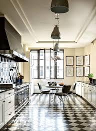 carrelage cuisine damier noir et blanc carrelage cuisine damier noir et blanc beau beautiful cuisine