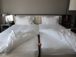 What Size Is King Size Duvet Cover I Don U0027t Understand European Hotel Twin Beds One Mile At A Time
