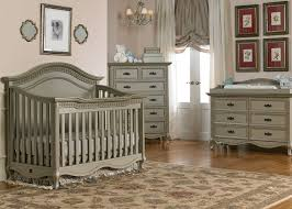 Grey Convertible Cribs Contemporary Grey Mahogany Wood Convertible Crib Laminated Wood