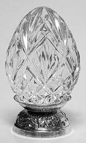 waterford crystal l base waterford annual egg sterling or silverplate base at replacements
