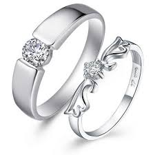 platinum rings wedding images Platinum wedding rings for women with round cut jpg