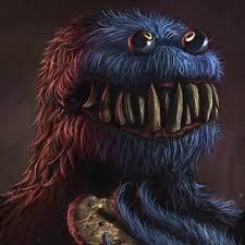 Monster Meme - cookie monster sesame street know your meme