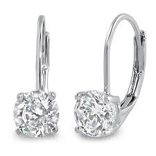 diamond back earrings drop earrings jewelure