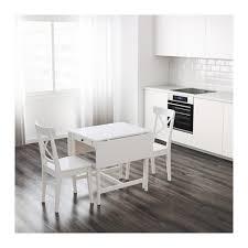 Glass Drop Leaf Table Flatpack Kitchen Furniture Cabinets Units Drawers Organisers Ikea