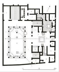 house of the vettii floor plan house plans