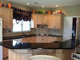 White Kitchens With Granite Countertops Kitchen Breathtaking Black Kitchen Countertops With Backsplash