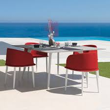 contemporary chair with removable cover fabric aluminum