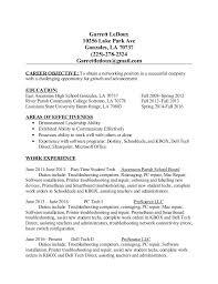 garrett s ledoux resume