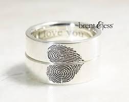 fingerprint wedding band custom fingerprint jewelry by brent by fabuluster