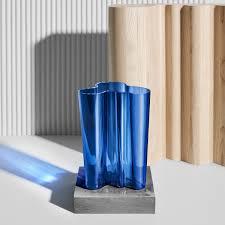 Classic Vases Iittala Aalto Ultramarine Finland 100 Vases Classic Aalto Vases