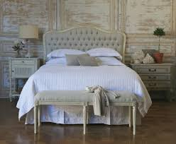 Cushioned Headboards For Beds by Great French Style Bed Headboards 17 On Leather Upholstered