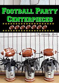 football party decorations the mandatory mooch football party centerpieces