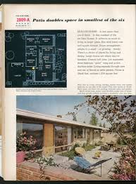 better homes and gardens house plans 1958 midcentury idea house