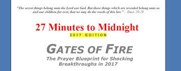 27 minutes to midnight 2017 edition gates of the prayer