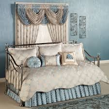Design For Daybed Comforter Ideas Blooming Treillage Floral Daybed Set Bedding