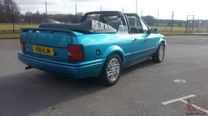 ford escort xr3i cabriolet mk4 1991
