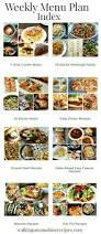 weekly menu plan 5 easy instant pot recipes