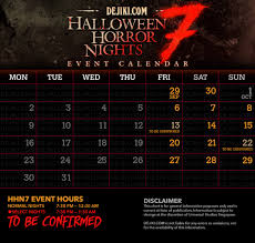 halloween horror nights scare actor auditions hhn dates