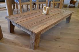 the natural and elegant design of reclaimed coffee table home