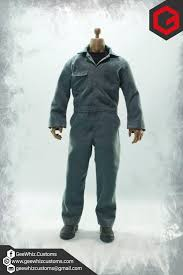 michael myers jumpsuit geewhiz customs michael myers 1 and 6 coveralls