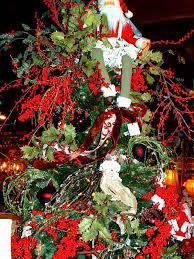 santa themed trees rainforest islands ferry