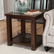 Accent Tables Cheap by Amazon Com Belham Living Bartlett Square End Table Kitchen U0026 Dining