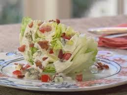 lettuce wedge with blue cheese dressing recipe trisha yearwood
