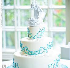teal beach wedding cakes the wedding specialiststhe wedding
