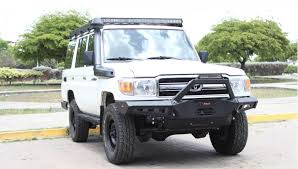 toyota land cruiser bumper vpr 4x4 toyota land cruiser 70 series 2007 up front rally bumper