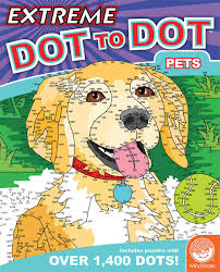 extreme dot to dot pets by mindware 68229w really great toys