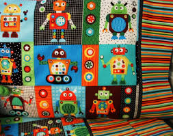 Mini Crib Bedding Sets For Boys by Crib Sheets Robots Creative Ideas Of Baby Cribs