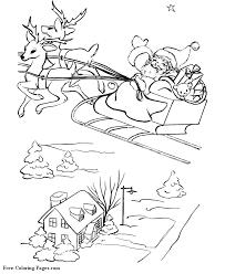 santa claus marry christmas coloring u003e u003e disney coloring pages
