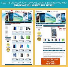 ebay store shop html listing mobile responsive template for
