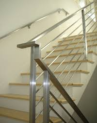 Contemporary Banisters And Handrails Contemporary Railings Stainless Steel Cable Railings U2014 Hudson