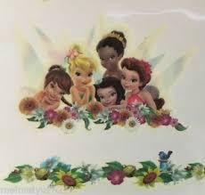 disney princess tinkerbell friends ladybugs flowers temporary