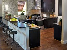Black Kitchen Designs 2013 Dark Granite Countertops Hgtv