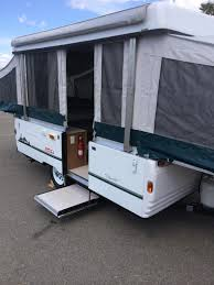 1999 fleetwood coleman santa fe tent trailer french camp ca