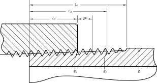 How To Read Dimensions National Pipe Thread Wikipedia