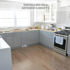 Kitchen Cabinet Doors Canada Contemporary Kitchen Installing Ikea Kitchen Cabinetry Via The