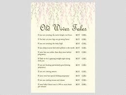 Download Baby Shower Games Willow Tree Baby Shower Game Package Magical Printable